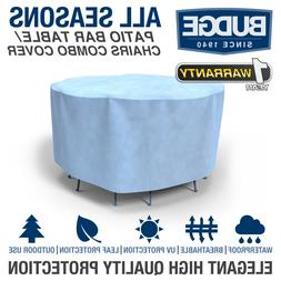Budge All-Seasons Patio Bar Table and Chairs Cover | Various