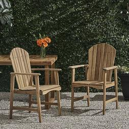 Easter Outdoor Weather Resistant Acacia Wood Adirondack Dini