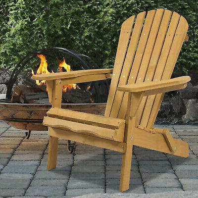 Foldable Wooden Outdoor Furniture Lounge Seat Deck