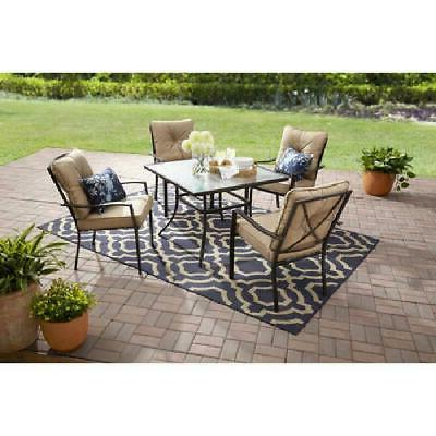 forest hills outdoor patio dining set cushioned