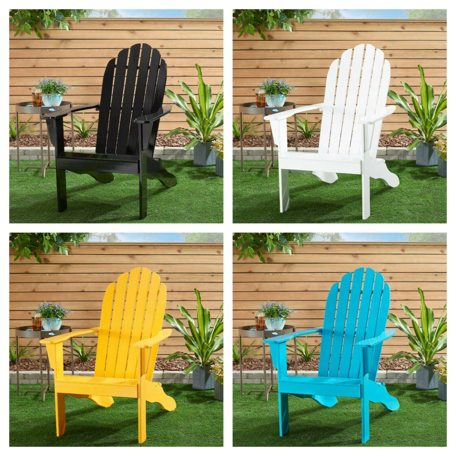 outdoor adirondack chair patio porch chair solid