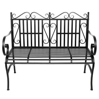 Outdoor Bench Durable Seating Metal