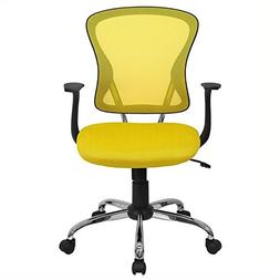 Flash Furniture Mesh Desk Chair with Chrome Base, Multiple C