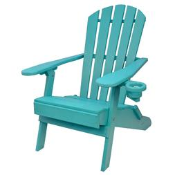 Outer Banks Value Line Poly Lumber Folding Adirondack Chair