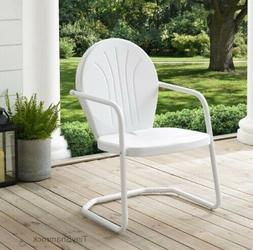 Retro Style Metal Lawn Chair Outdoor Patio Furniture Clearan