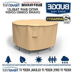 Rust-Oleum NeverWet Patio Bar Table and Chairs Combo Cover|