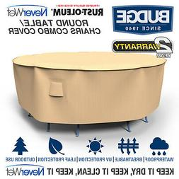 Rust-Oleum NeverWet Round Patio Table and Chairs Combo Cover