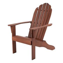 wooden adirondack chair outdoor patio furniture lounge